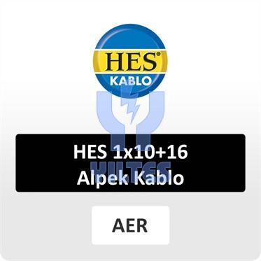 HES 1x10+16 Alpek Kablo