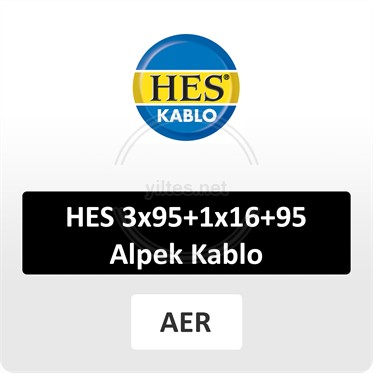 HES 3x95+1x16+95 Alpek Kablo