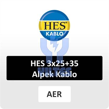 HES 3x25+35 Alpek Kablo