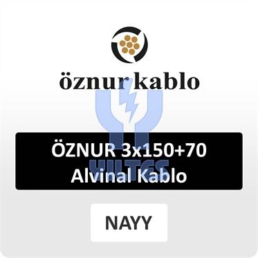 ÖZNUR 3x150+70 Alvinal Kablo