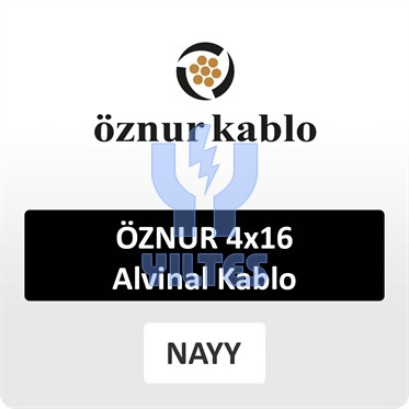 ÖZNUR 4x16 Alvinal Kablo