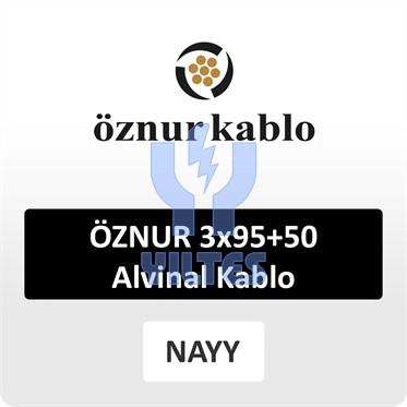 ÖZNUR 3x95+50 Alvinal Kablo