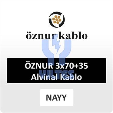 ÖZNUR 3x70+35 Alvinal Kablo