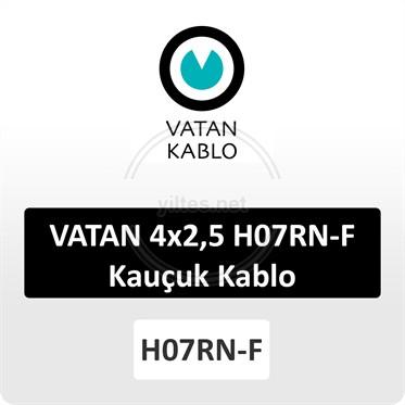 VATAN 4x2,5 H07RN-F Kauçuk Kablo