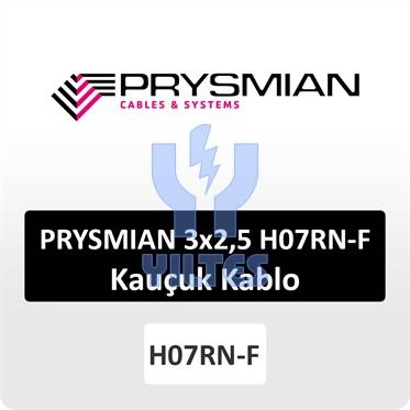 PRYSMIAN 3x2,5 H07RN-F Kauçuk Kablo