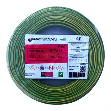 PRYSMIAN 1,5 NYA Kablo - S/Y 100 Metre