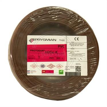 PRYSMIAN 1 NYAF Kablo - Kahverengi 300 Metre