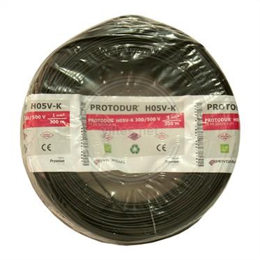 PRYSMIAN 1 NYAF Kablo - Siyah 300 Metre