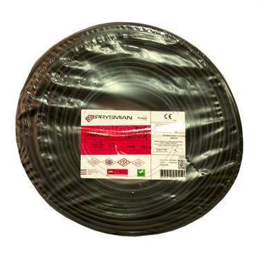 PRYSMIAN 10 NYAF Kablo - Siyah 100 Metre
