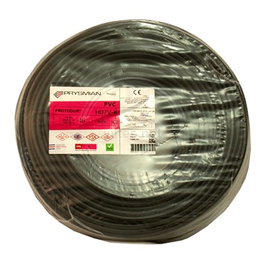 PRYSMIAN 16 NYAF Kablo - Siyah 100 Metre