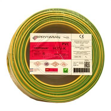 PRYSMIAN 6 NYAF Kablo - S/Y 100 Metre