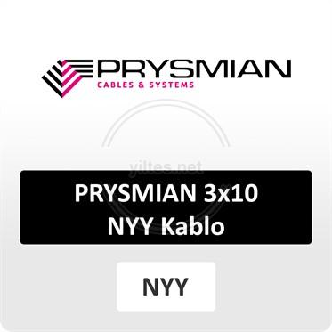 PRYSMIAN 3x10 NYY (yeraltı) Kablo