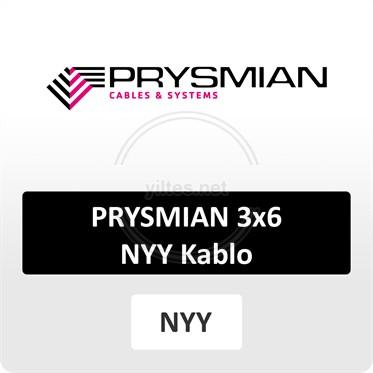 PRYSMIAN 3x6 NYY (yeraltı) Kablo