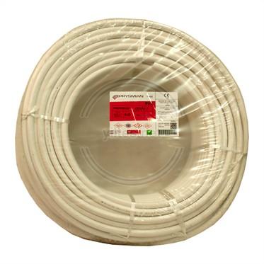 PRYSMIAN 4x6 TTR Kablo - Beyaz 100 Metre