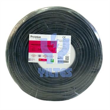 PRYSMIAN 2x0,75 TTR Kablo - Siyah 100 Metre