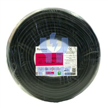 PRYSMIAN 3x0,75 TTR Kablo - Siyah 100 Metre