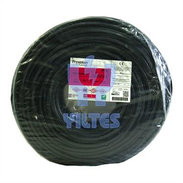 PRYSMIAN 4x1,5 TTR Kablo - Siyah 100 Metre