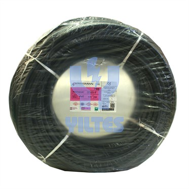 PRYSMIAN 4x6 TTR Kablo - Siyah 100 Metre