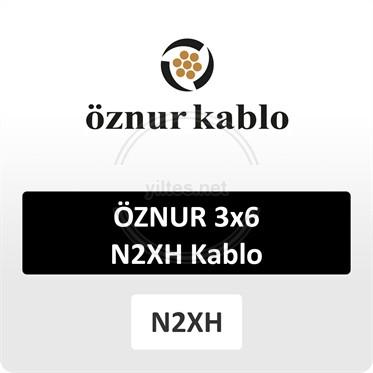 ÖZNUR 3x6 N2XH Kablo