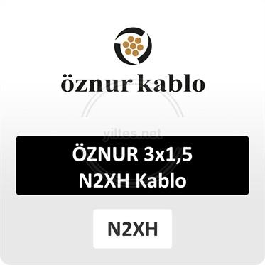 ÖZNUR 3x1,5 N2XH Kablo