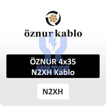 ÖZNUR 4x35 N2XH Kablo