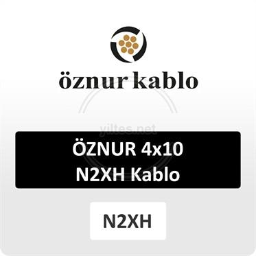 ÖZNUR 4x10 N2XH Kablo