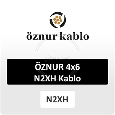 ÖZNUR 4x6 N2XH Kablo