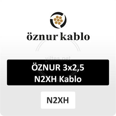 ÖZNUR 3x2,5 N2XH Kablo