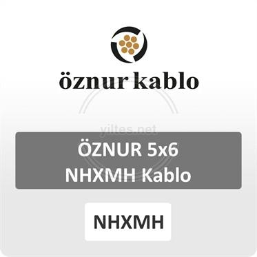 ÖZNUR 5x6 NHXMH Kablo
