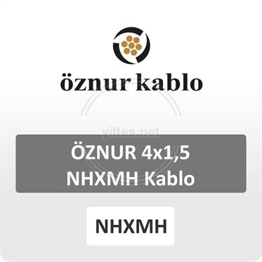 ÖZNUR 4x1,5 NHXMH Kablo
