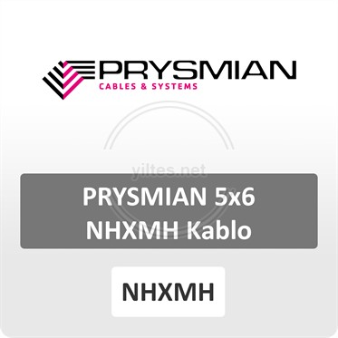 PRYSMIAN 5x6 NHXMH Kablo