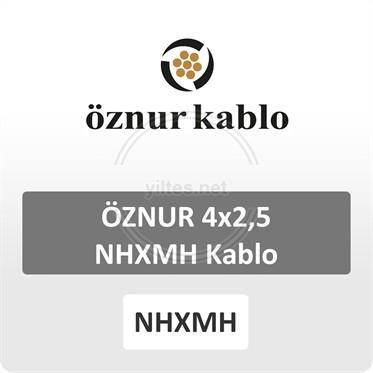 ÖZNUR 4x2,5 NHXMH Kablo