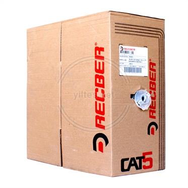 REÇBER Cat5 Kablo - SL200 U24 Category 5e U/UTP 4x2x24AWG - 305 Metre