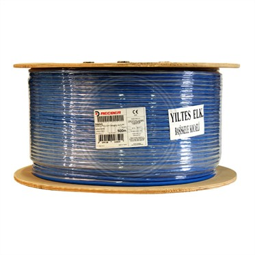 REÇBER Örgülü Halojen Free Cat6A Kablo - SL500 S/F23 Category 6A S/FTP 4x2x23AWG - 500 Metre