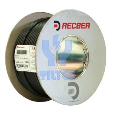 REÇBER MC24 2x0,22mm² Stereo Mikrofon Kablosu - 100 Metre