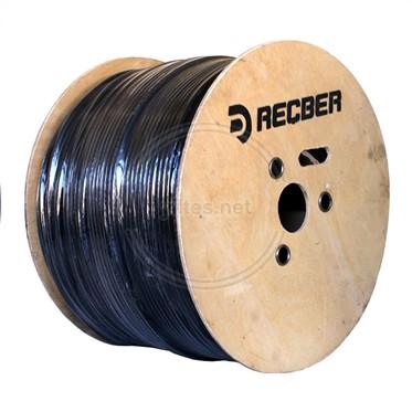 REÇBER Dış Ortam RG6 U6 PHY-PE Cu/Cu Kablo - 500 Metre