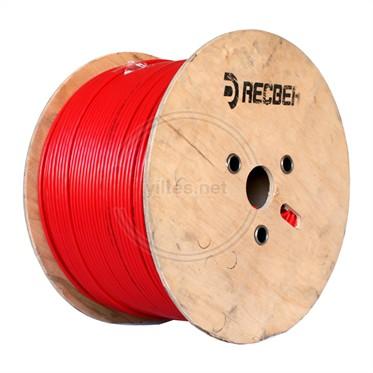 REÇBER J-Y(St)Y...Lg 2x2x0,80mm+0,40mm PVC Yangın Alarm Kablosu - 500 Metre