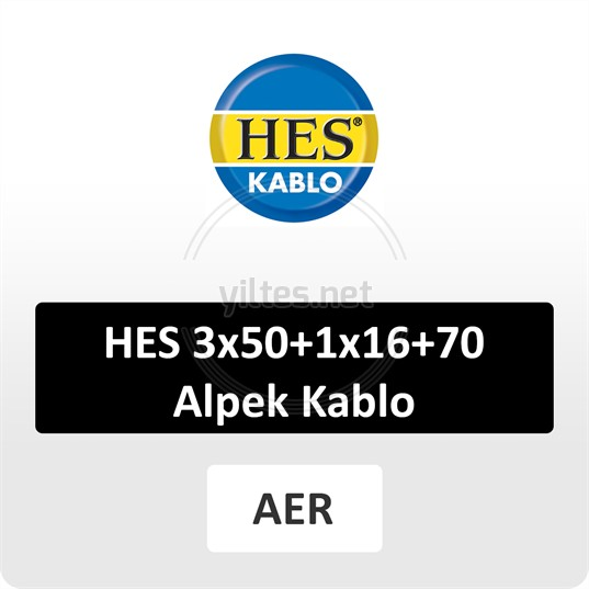 HES 3x50+1x16+70 Alpek Kablo