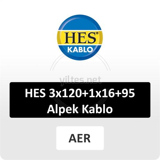 HES 3x120+1x16+95 Alpek Kablo