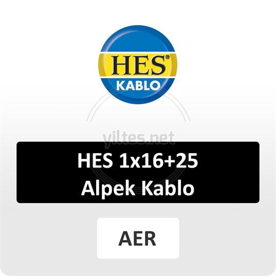 HES 1x16+25 Alpek Kablo