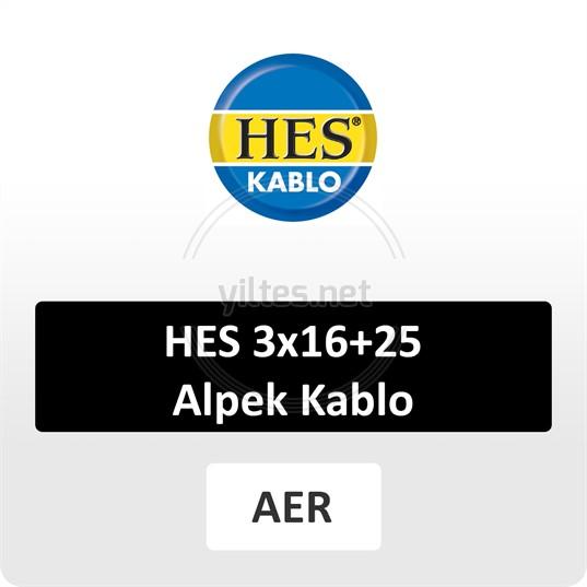 HES 3x16+25 Alpek Kablo
