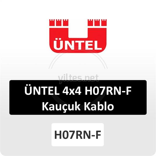 ÜNTEL 4x4 H07RN-F Kauçuk Kablo