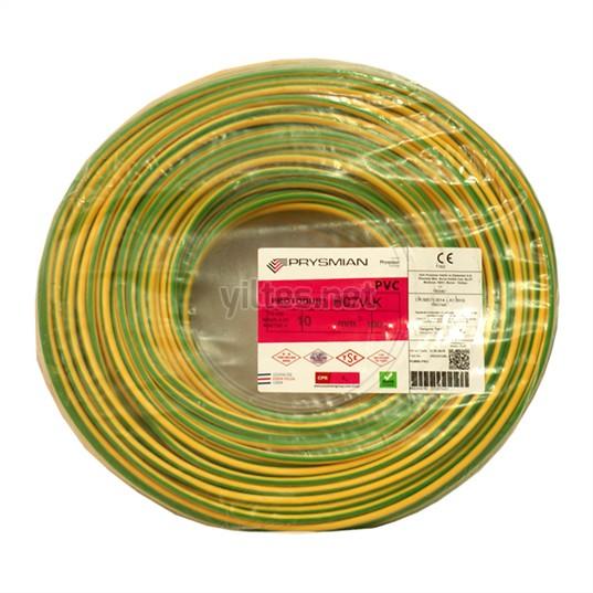 PRYSMIAN 10 NYAF Kablo - S/Y 100 Metre