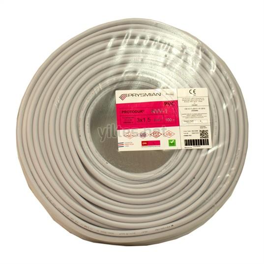 PRYSMIAN 3x1,5 NYM Kablo - 100 Metre