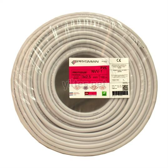 PRYSMIAN 3x2,5 NYM Kablo - 100 Metre