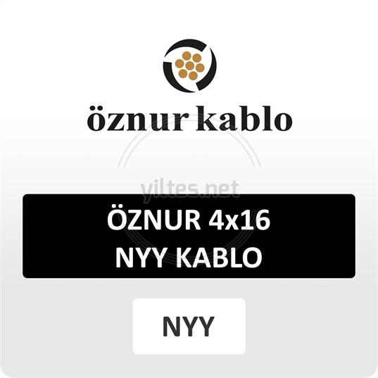 ÖZNUR 4x16 NYY Kablo