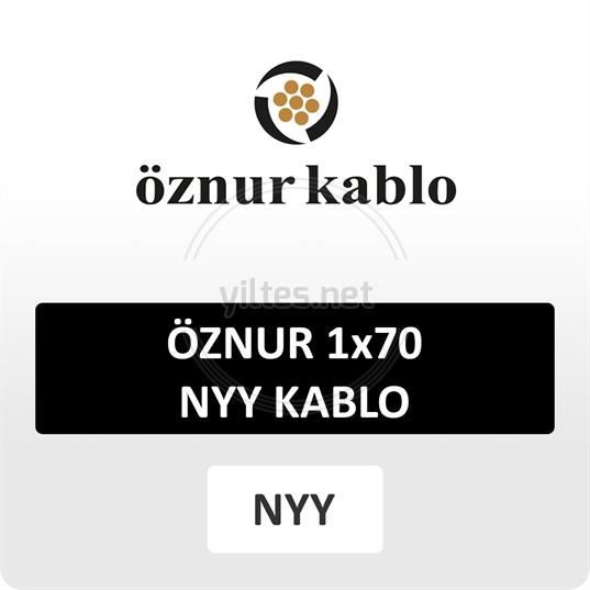 ÖZNUR 1x70 NYY Kablo