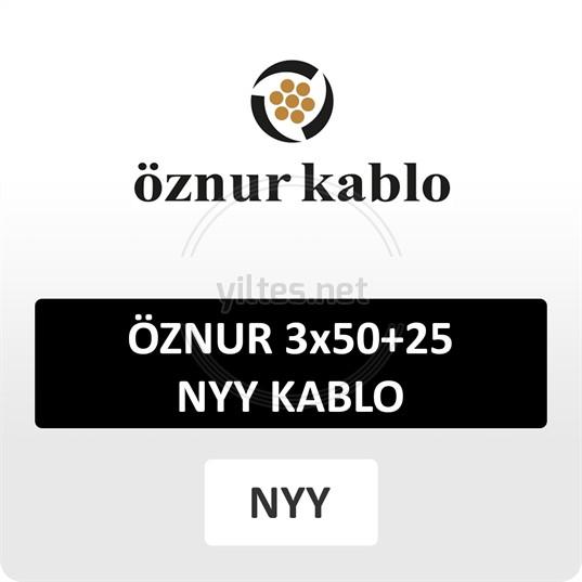 ÖZNUR 3x50+25 NYY Kablo