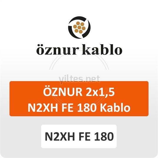 ÖZNUR 2x1,5 N2XH FE 180 Kablo