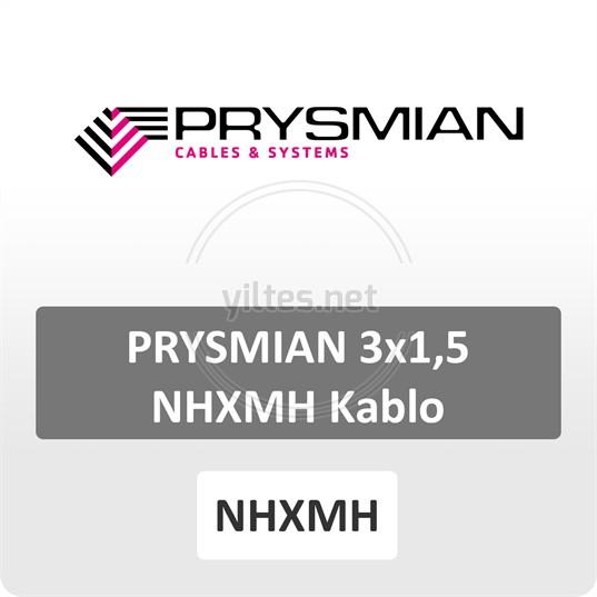 PRYSMIAN 3x1,5 NHXMH Kablo-1.000 metre